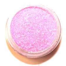 Glitter. Fluo Pink.