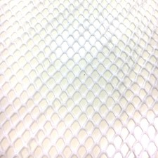 Fish mesh large White