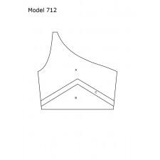 DesignMix Skråtop model 712