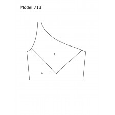 DesignMix Skråtop model 713
