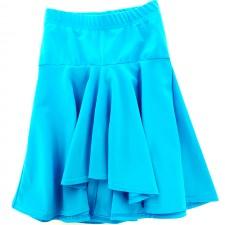Nederdel med stramt bærestykke - Babados