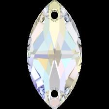 Navette 18x9 mm Crystal AB - Swarovski