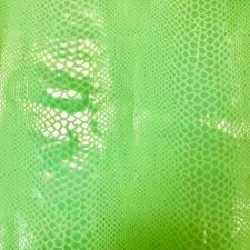 Snake Pearl Glimmer Flou Green