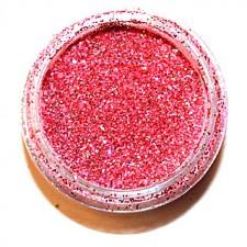 Glitter. Lipstick Hologram.
