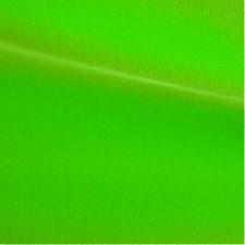 Velour Fluo green - silver