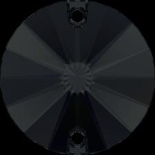 Rivoli 12 mm Jet - Swarovski