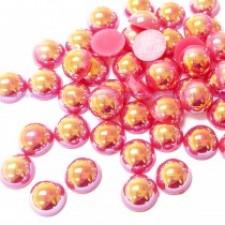 10 mm. Lipstick AB - Halve perler