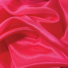 Satin chiffon Berry Bliss