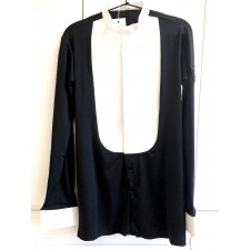 Ballroom Competition Shirt Black/White