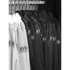 Herreskjorte/body  i sort ØKO lycra