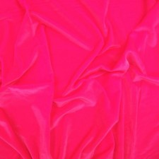 Smooth velvet Fluo pink