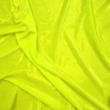 Smooth velvet Fluo yellow