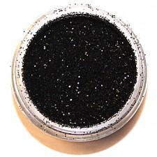 Glitter. Black.