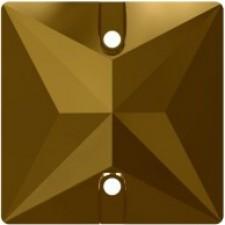 Square 16 mm Dorado