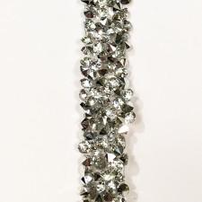 Stenbånd Silver 1,2 cm.