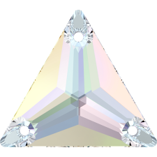 Triangle 16 mm Crystal AB