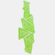 Triangle Fluo Green