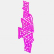 Triangle Fluo Pink