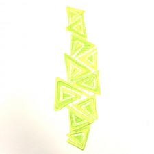 Triangle Fluo Yellow