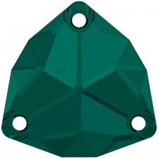 Trilliant 16 mm Emerald