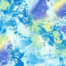 Mønstret lycra Blå/lilla nuancer