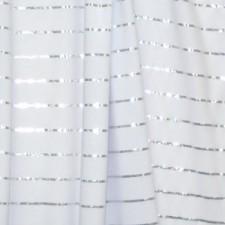 Stribet lycra Silver/White