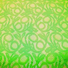 Blonde Fluo Green