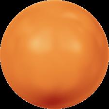 Crystal Pearls 10 mm Fluo orange
