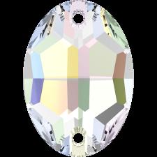 Oval 16x11 mm Crystal AB - Swarovski