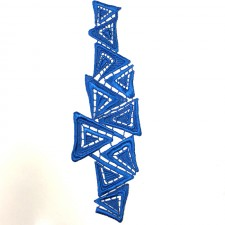 Triangle Ocean Blue