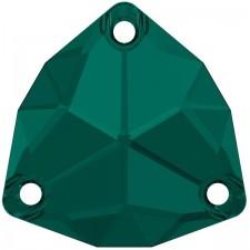 Trilliant 20 mm Emerald
